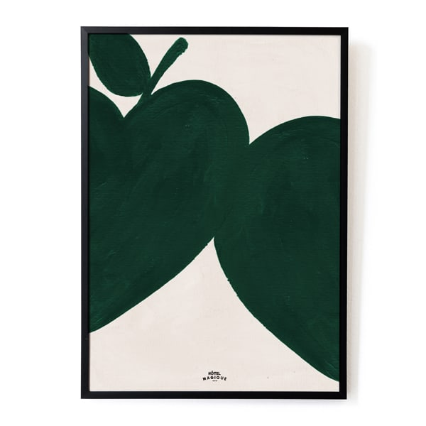 i-like-my-apples-green-art-print