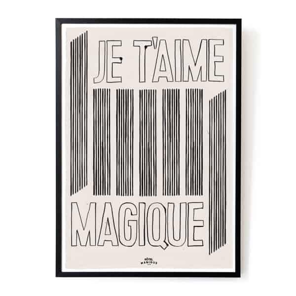 je-taime-magique-art-print