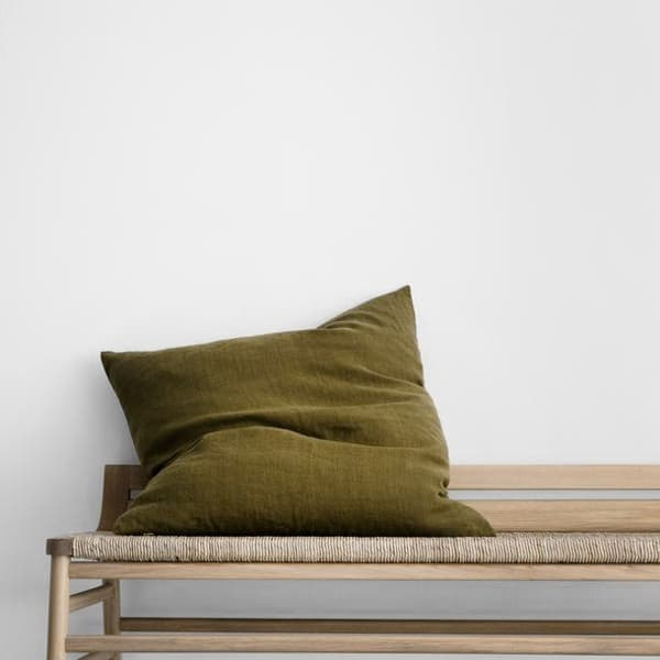 olive-heavyweight-linen-cushion