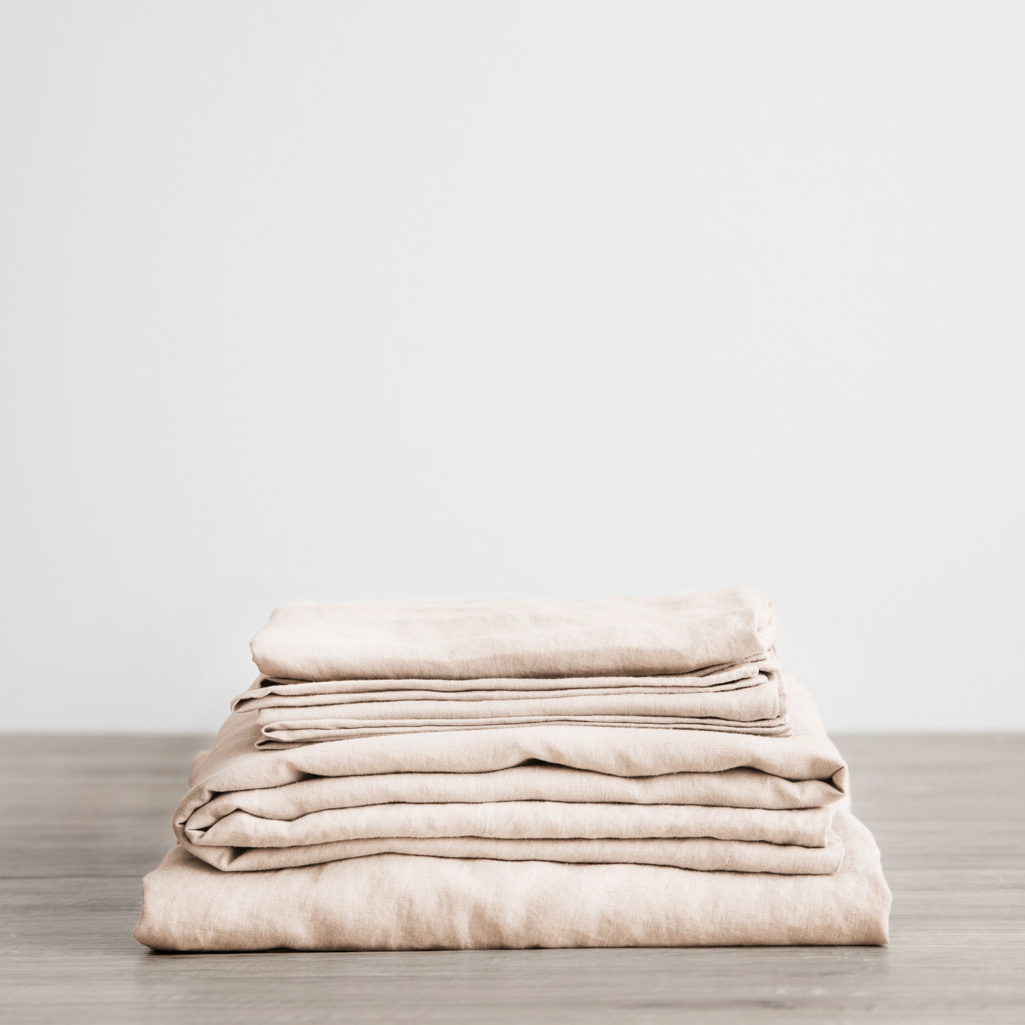 Blush sheet set folded from Monsoon Living Newcastle