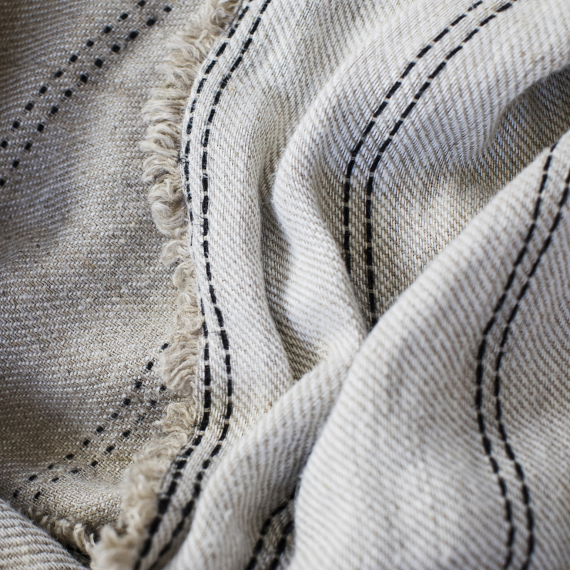 Ana linen throw up close by Monsoon Living Newcastle
