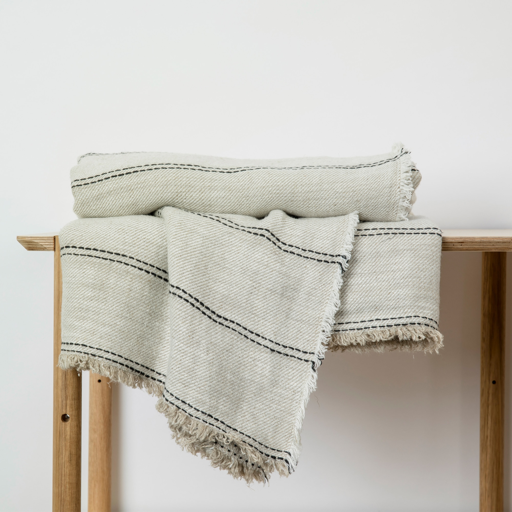 Ana linen throw from Monsoon Living