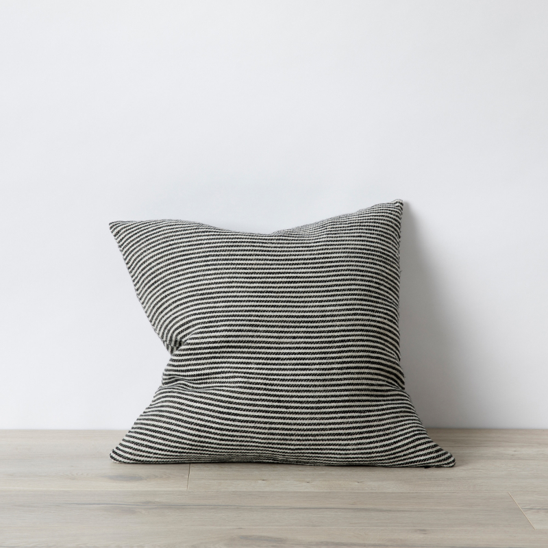 Ellis stripe linen cushion from Monsoon Living Newcastle