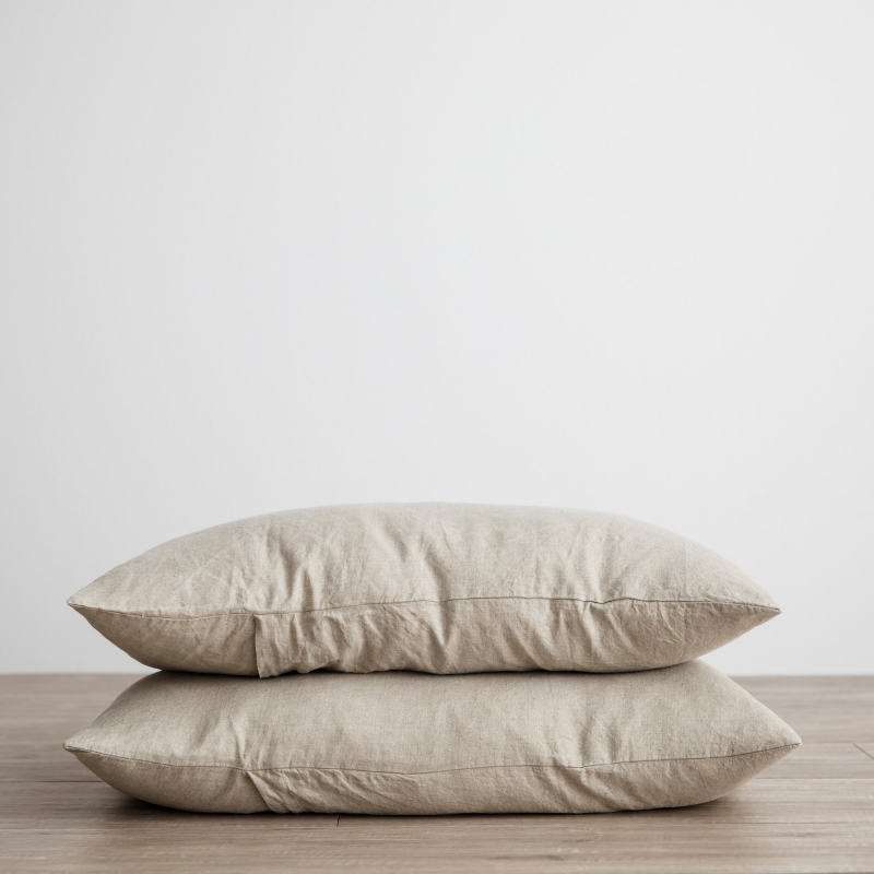 Natural pillowcases from Monsoon Living Newcastle