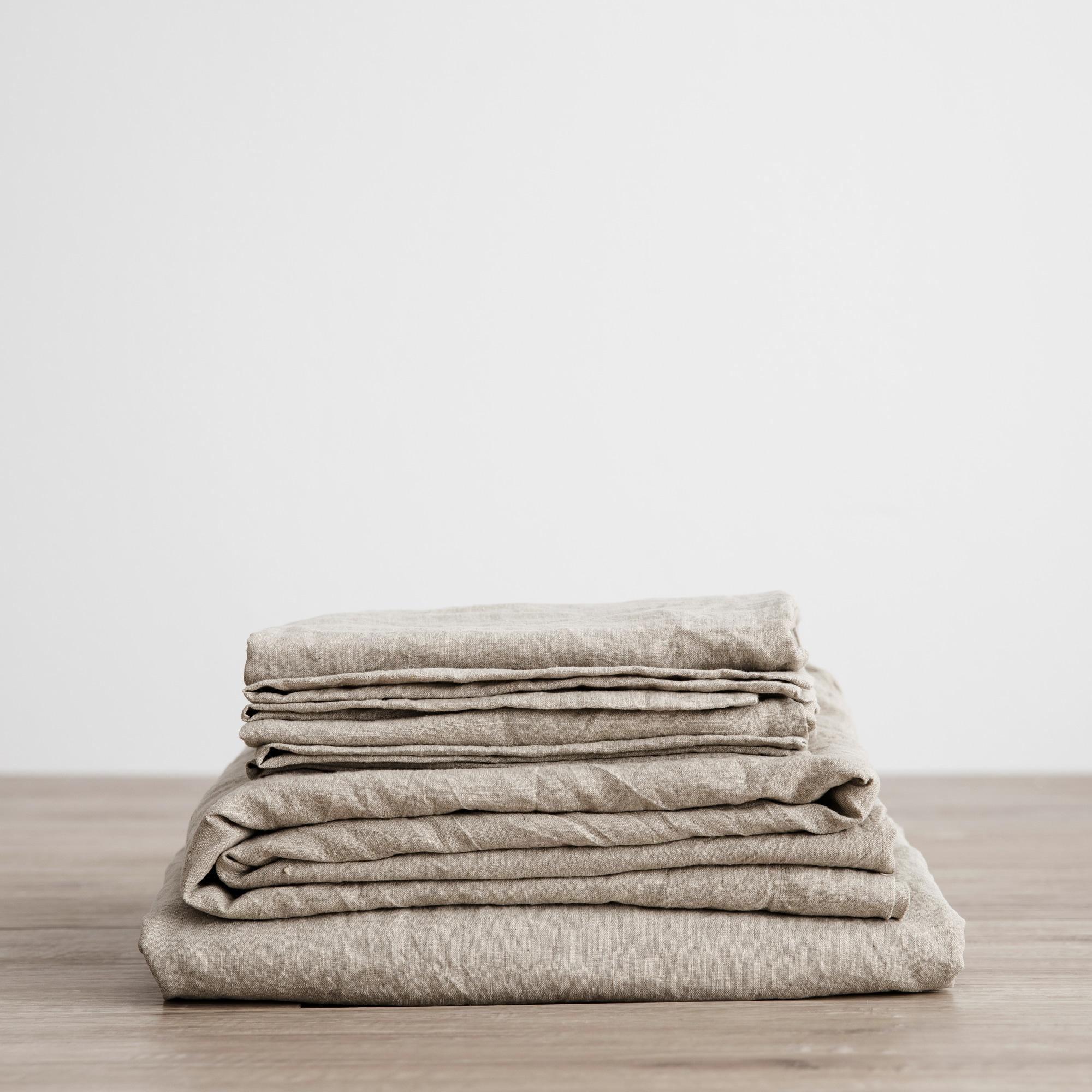 Natural sheet set folded from Monsoon Living Newcastle
