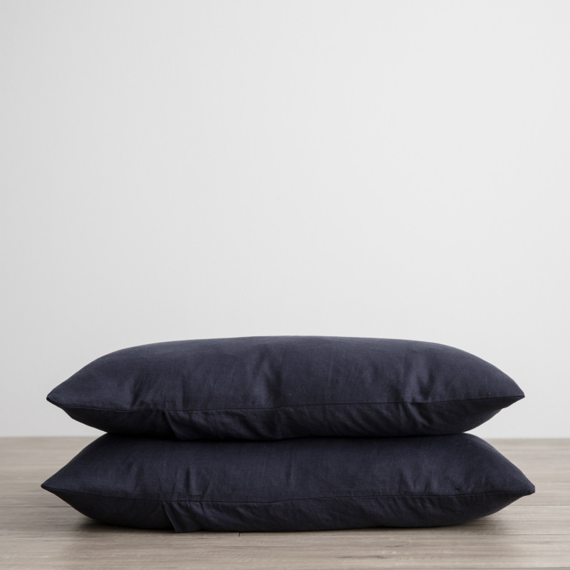 Navy pillowcases from Monsoon Living Newcastle