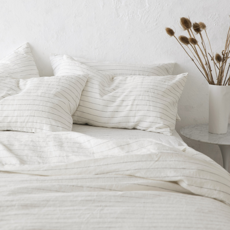 Pencil stripe messy bed from Monsoon Living Newcastle