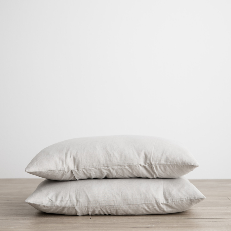 Smoke grey pillowcases from Monsoon Living Newcastle