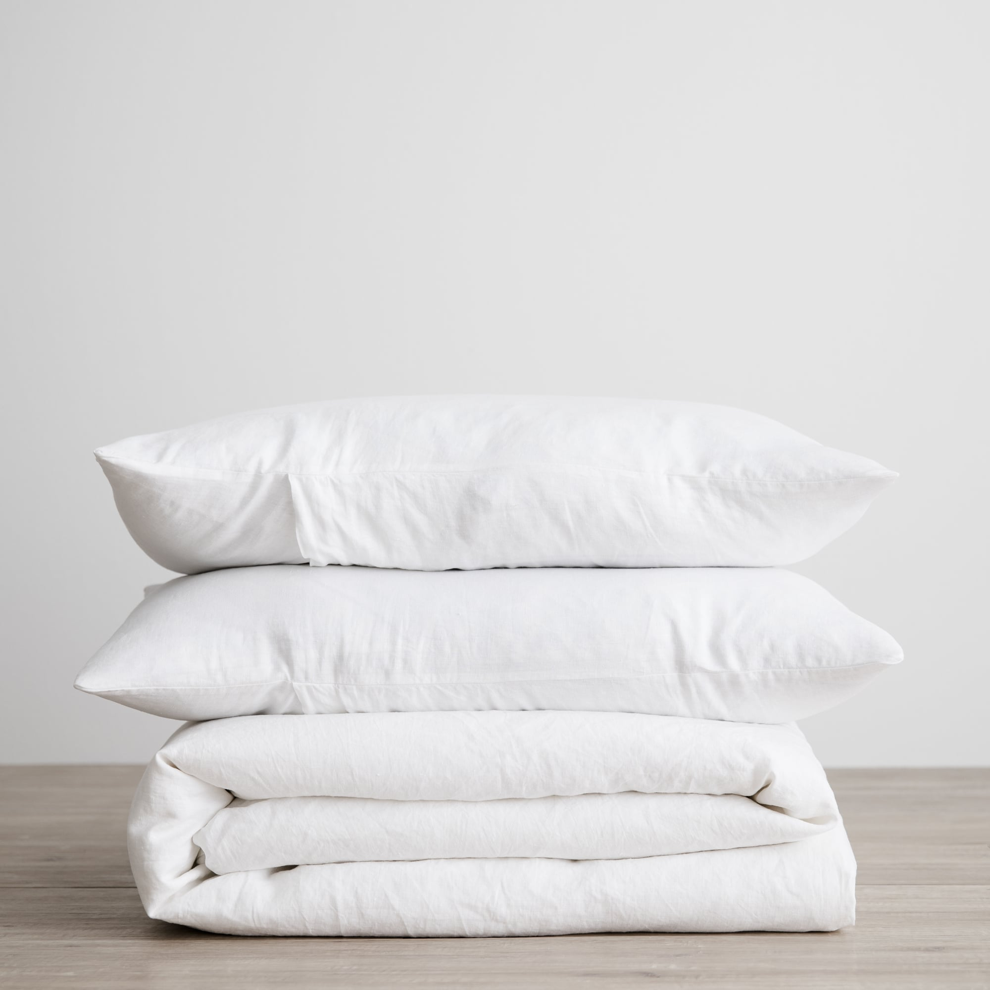 White linen duvet set from Monsoon Living Newcastle
