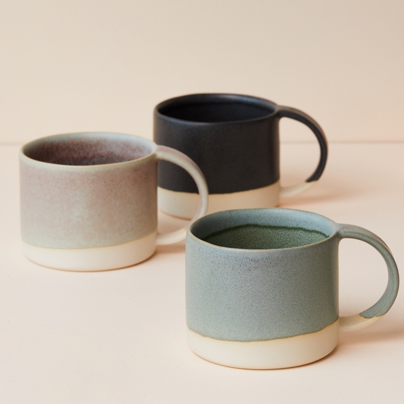 Handmade coffee mugs from Monsoon Living Newcastle