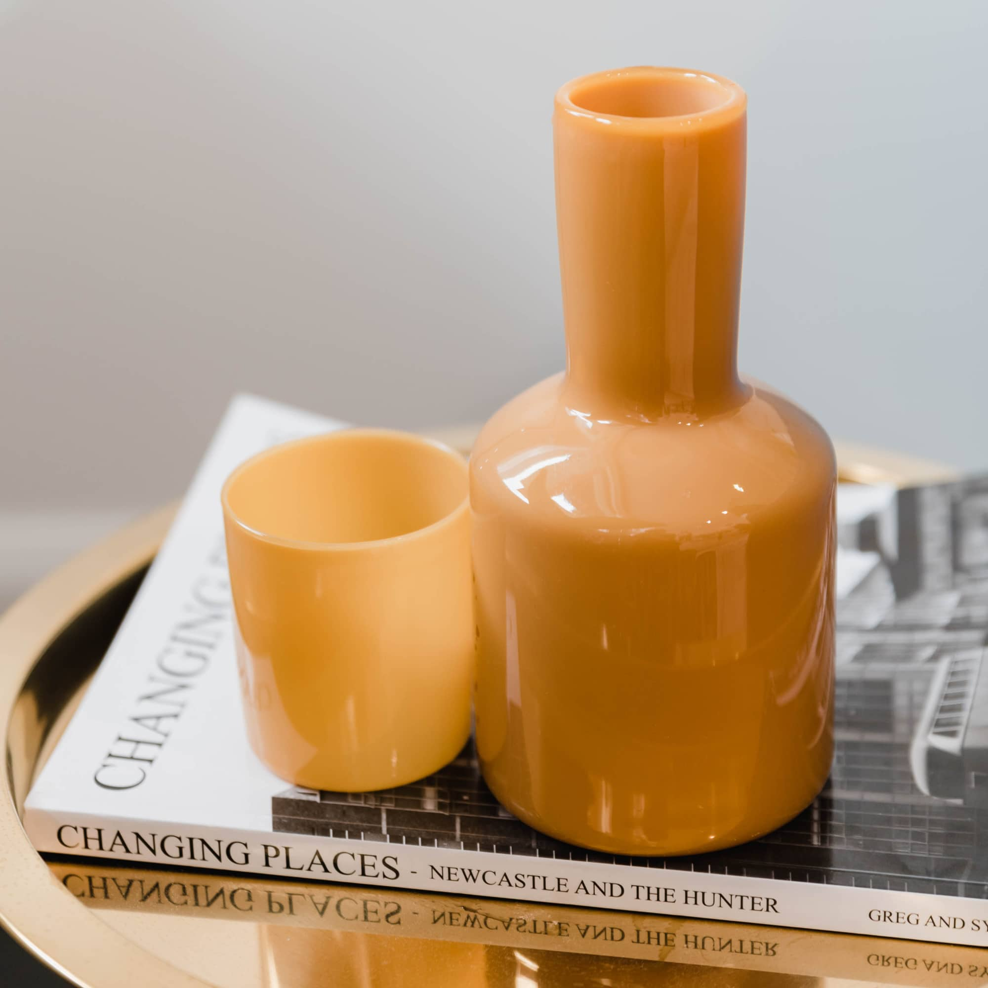 Maison Balzac opaque yellow carafe set from Monsoon Living