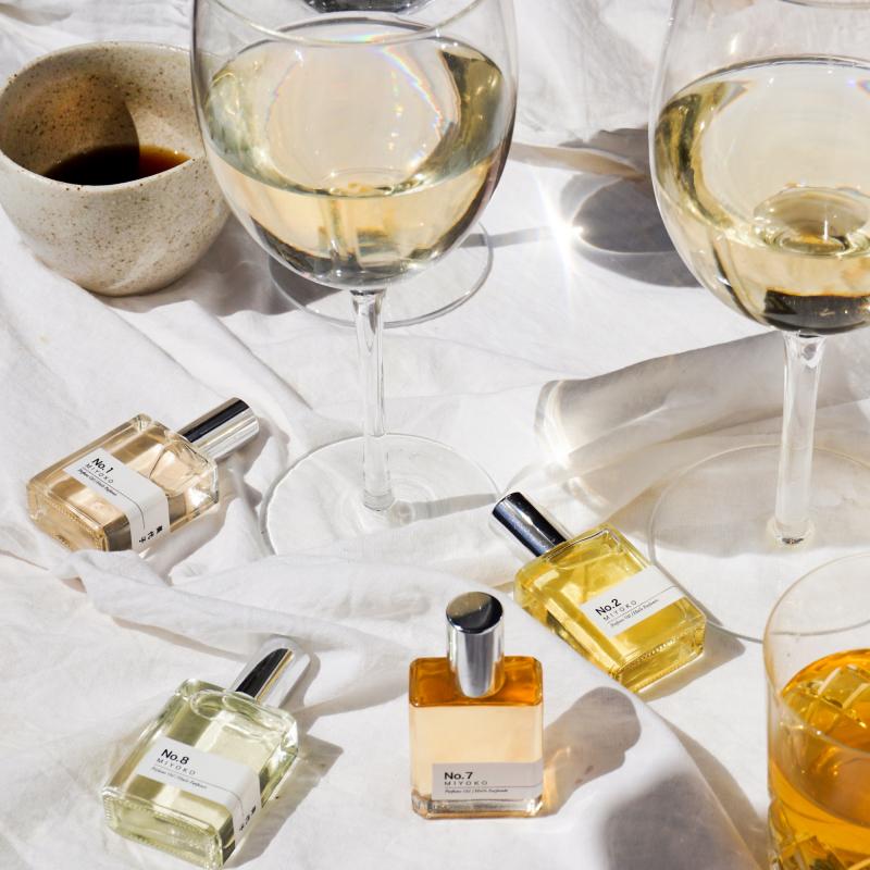 Miyoko perfume oil, wine and coffee from Monsoon Living Newcastle