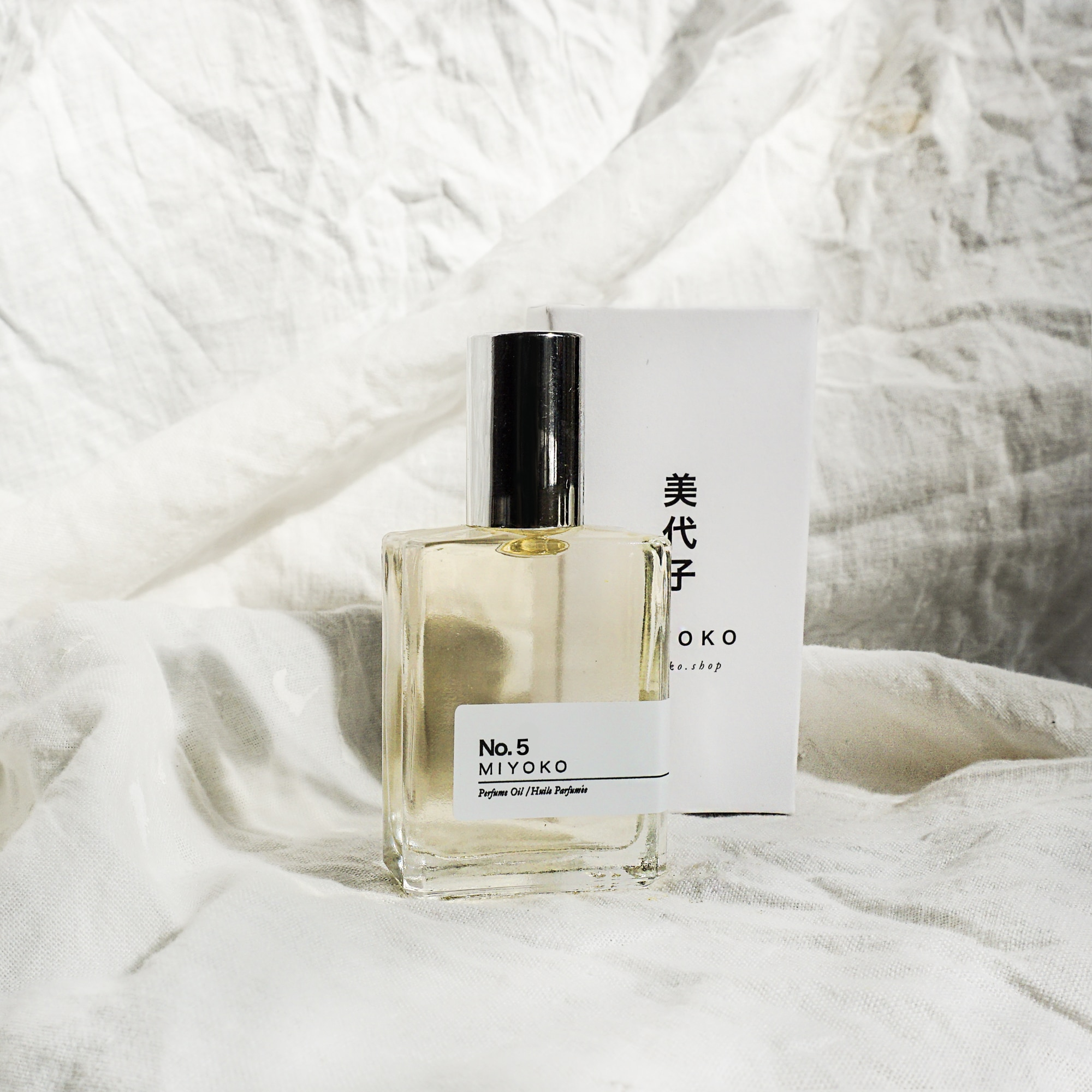 Miyoko perfume oil number five from Monsoon Living Newcastle