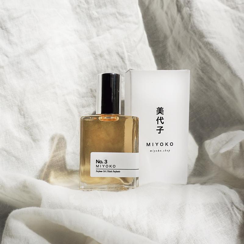Miyoko perfume oil number three from Monsoon Living Newcastle