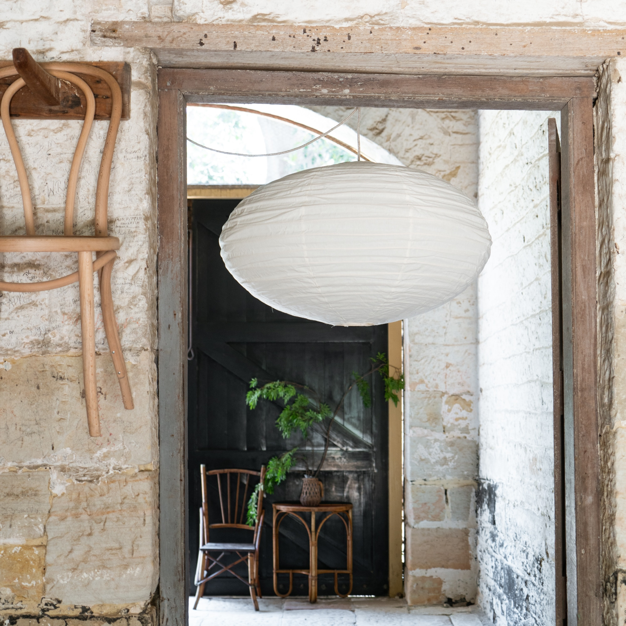 Dampier Lantern in stone cottage from Monsoon Living Newcastle
