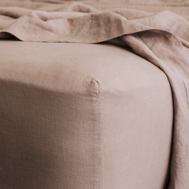 Fawn fitted sheet from Monsoon Living Newcastle