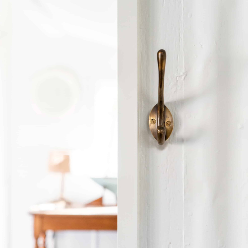 Brass Coat Hook by Monsoon Living Newcastle