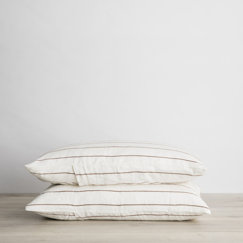Cedar stripe pillowcase set from Monsoon Living Newcastle