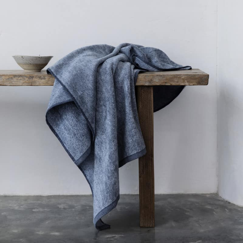 Denim towels by Monsoon Living Newcastle