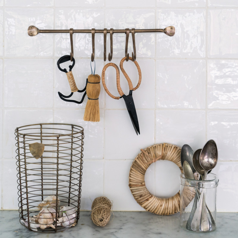 Brass Kitchen Hooks from Monsoon Living Newcastle