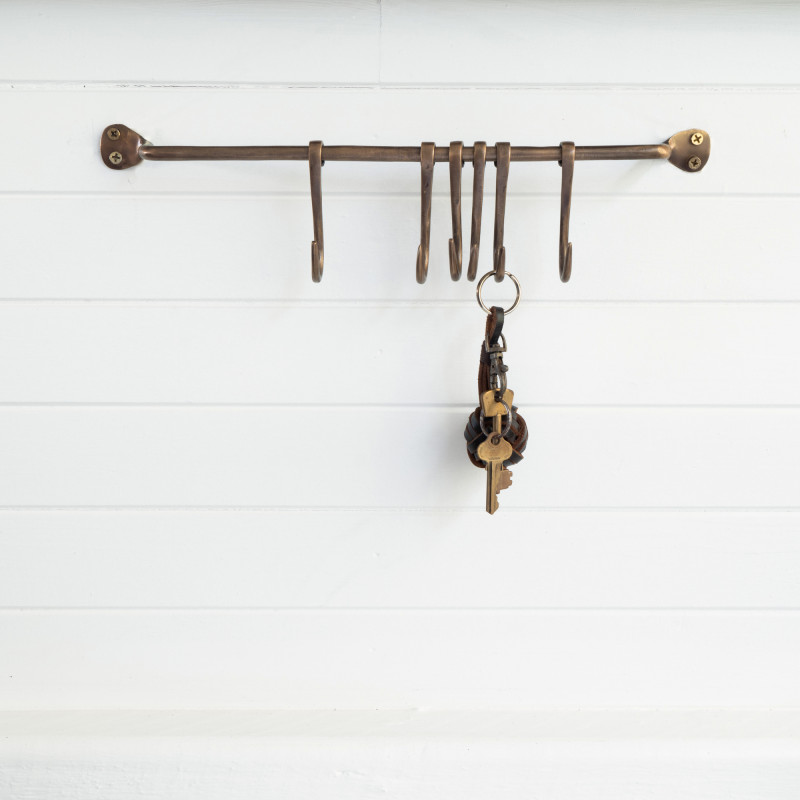 Brass Kitchen Hooks from Monsoon Living Newcastle