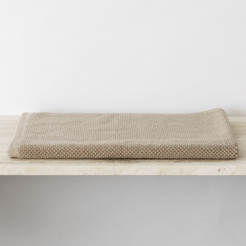 Natural linen bath mat from Monsoon Living Newcastle