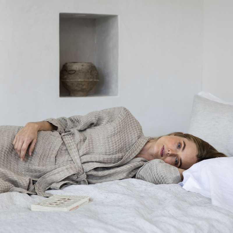 Natural Linen Robe from Monsoon Living Newcastle