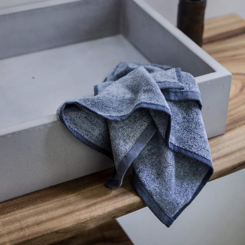 Denim Hand Towel from Monsoon Living Newcastle